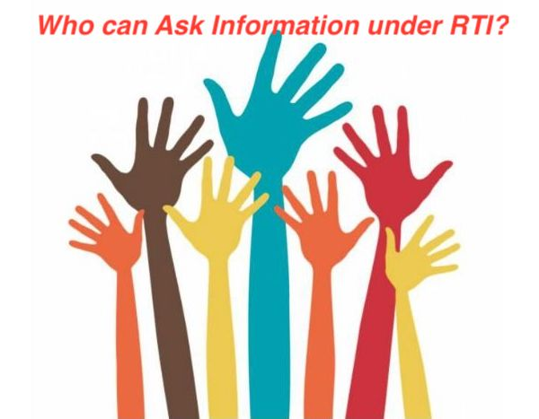Who Can seek information under RTI